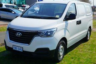 2018 Hyundai iLOAD TQ4 MY19 Creamy White 5 Speed Automatic Van.