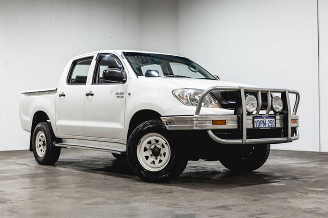 Used Toyota Hilux GGN25R MY10 SR, 2011 Toyota Hilux GGN25R MY10 SR White 5 Speed Automatic Utility