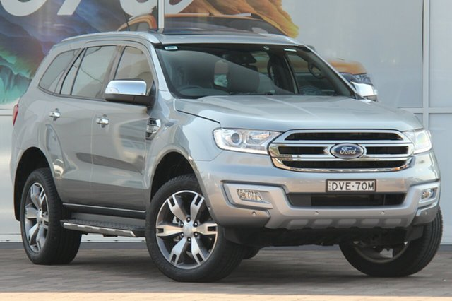 Used Ford Everest UA Titanium, 2017 Ford Everest UA Titanium Aluminium 6 Speed Sports Automatic SUV