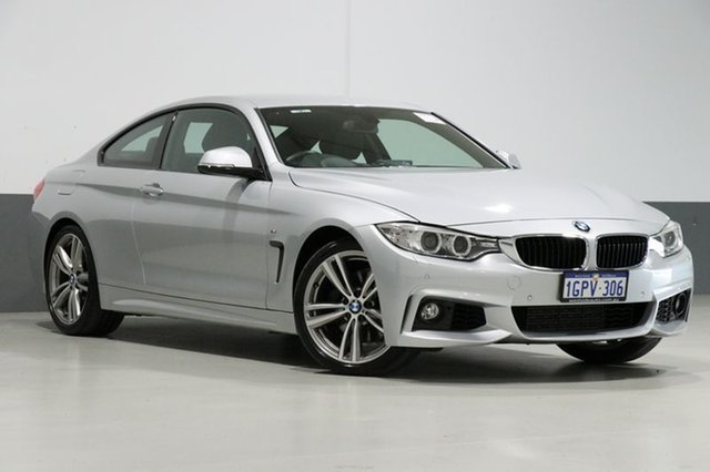 Used BMW 435i F32 MY14 , 2014 BMW 435i F32 MY14 Silver 8 Speed Automatic Coupe