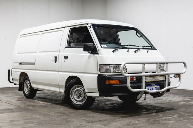 Used Mitsubishi Express SJ M07 MWB, 2006 Mitsubishi Express SJ M07 MWB White 5 Speed Manual Van