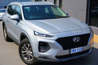 2018 Hyundai Santa Fe TM MY19 Active Typhoon Silver 8 Speed Sports Automatic Wagon.