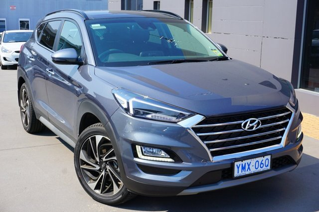 Demo Hyundai Tucson TL3 MY19 Highlander D-CT AWD, 2018 Hyundai Tucson TL3 MY19 Highlander D-CT AWD Pepper Gray 7 Speed Sports Automatic Dual Clutch