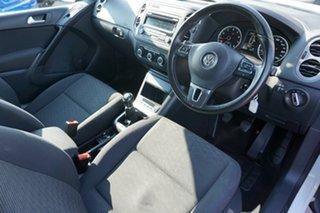 2014 Volkswagen Tiguan 5N MY14 118TSI 2WD White 6 Speed Manual Wagon