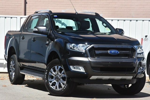 New Ford Ranger PX MkII MY18 Wildtrak Double Cab, 2018 Ford Ranger PX MkII MY18 Wildtrak Double Cab Shadow Black 6 Speed Sports Automatic Utility