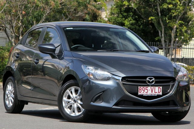 Used Mazda 2 DJ2HA6 Maxx SKYACTIV-MT, 2015 Mazda 2 DJ2HA6 Maxx SKYACTIV-MT Grey 6 Speed Manual Hatchback