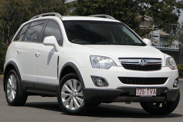 Used Holden Captiva CG MY14 5 LT, 2014 Holden Captiva CG MY14 5 LT White 6 Speed Sports Automatic Wagon