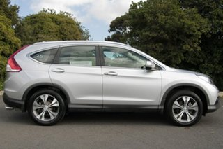 2012 Honda CR-V RM VTi-L 4WD Alabaster Silver 5 Speed Automatic Wagon