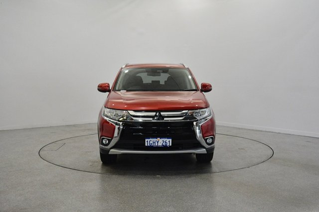Used Mitsubishi Outlander ZL MY18.5 LS AWD, 2018 Mitsubishi Outlander ZL MY18.5 LS AWD Red 6 Speed Constant Variable Wagon