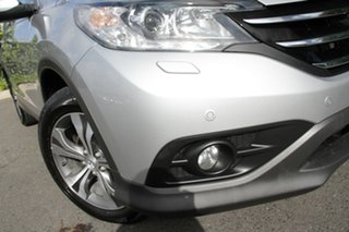 2012 Honda CR-V RM VTi-L 4WD Alabaster Silver 5 Speed Automatic Wagon.