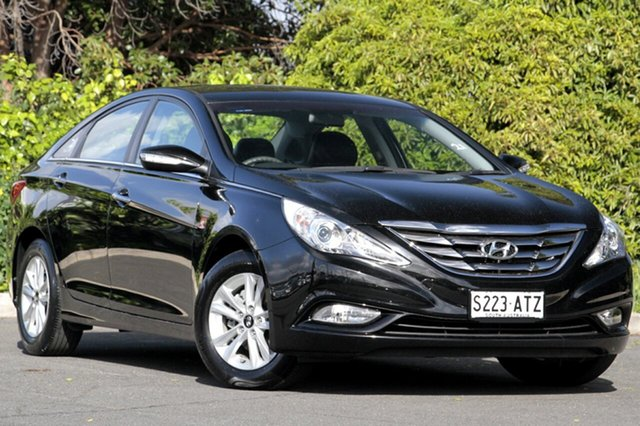 Used Hyundai i45 YF MY11 Active, 2012 Hyundai i45 YF MY11 Active Black Diamond 6 Speed Sports Automatic Sedan