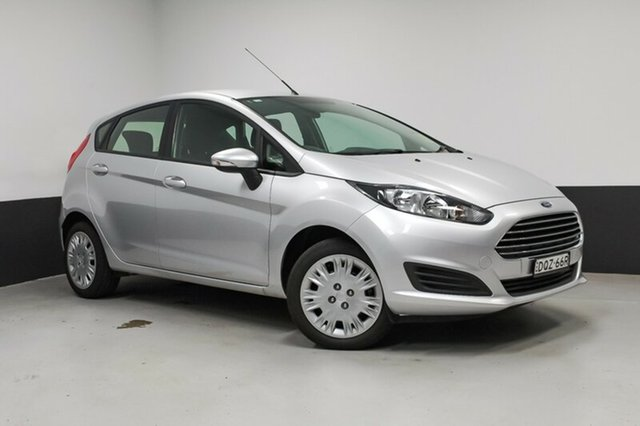 Used Ford Fiesta WZ Ambiente PwrShift, 2014 Ford Fiesta WZ Ambiente PwrShift Ingot Silver 6 Speed Sports Automatic Dual Clutch Hatchback