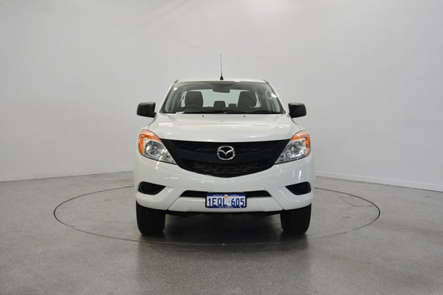 Used Mazda BT-50 UP0YF1 XT 4x2 Hi-Rider, 2014 Mazda BT-50 UP0YF1 XT 4x2 Hi-Rider White 6 Speed Sports Automatic Utility