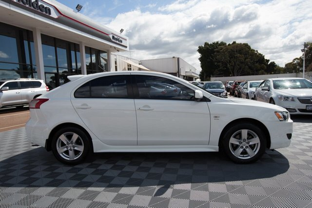 Used Mitsubishi Lancer CJ MY09 VR Sportback, 2009 Mitsubishi Lancer CJ MY09 VR Sportback White 6 Speed Constant Variable Hatchback
