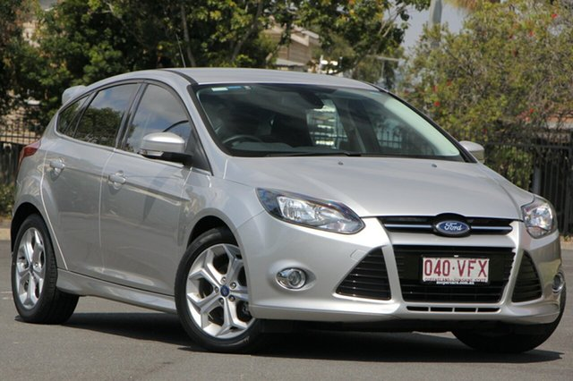 Used Ford Focus LW MKII Sport PwrShift, 2014 Ford Focus LW MKII Sport PwrShift Silver 6 Speed Sports Automatic Dual Clutch Hatchback