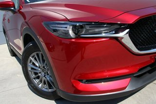 2018 Mazda CX-5 KF4WLA Maxx SKYACTIV-Drive i-ACTIV AWD Sport Soul Red Crystal 6 Speed.