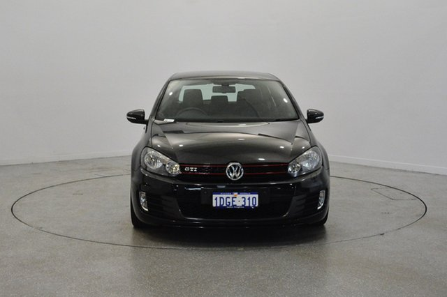 Used Volkswagen Golf VI MY10 GTI DSG, 2010 Volkswagen Golf VI MY10 GTI DSG Black 6 Speed Sports Automatic Dual Clutch Hatchback