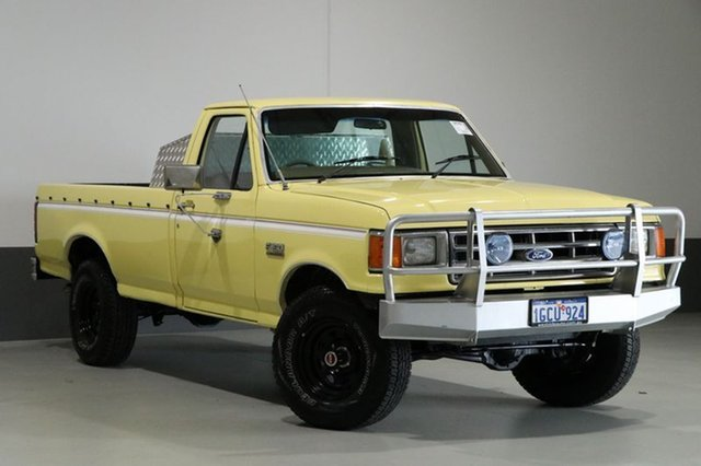 Used Ford F150  (4x4), 1987 Ford F150 (4x4) Yellow 4 Speed Manual 4x4 Utility