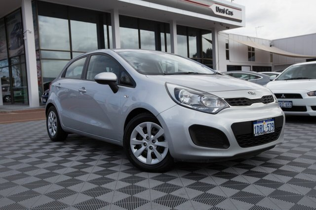 Used Kia Rio UB MY12 S, 2011 Kia Rio UB MY12 S Silver 4 Speed Sports Automatic Hatchback