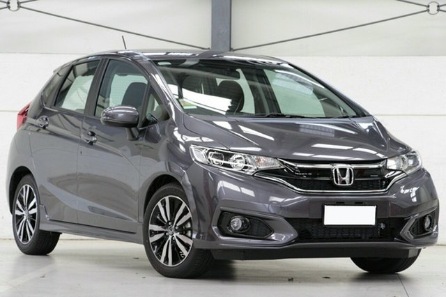 Demo Honda Jazz GF MY18 VTi-S, 2018 Honda Jazz GF MY18 VTi-S Modern Steel 1 Speed Constant Variable Hatchback