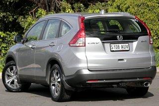 2012 Honda CR-V RM VTi-L 4WD Alabaster Silver 5 Speed Automatic Wagon.