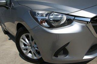 2018 Mazda 2 DJ2HAA Maxx SKYACTIV-Drive Aluminium 6 Speed Sports Automatic Hatchback.