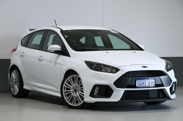 Used Ford Focus LZ RS, 2017 Ford Focus LZ RS White 6 Speed Manual Hatchback