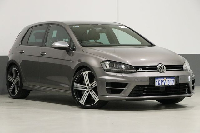 Used Volkswagen Golf AU MY14 R, 2014 Volkswagen Golf AU MY14 R Grey 6 Speed Direct Shift Hatchback