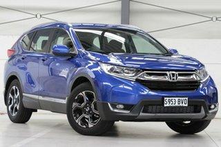 2018 Honda CR-V RW MY18 VTi-S FWD Brilliant Sporty Blue 1 Speed Constant Variable Wagon.