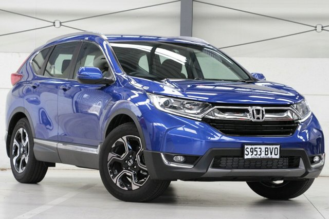 Demo Honda CR-V RW MY18 VTi-S FWD, 2018 Honda CR-V RW MY18 VTi-S FWD Brilliant Sporty Blue 1 Speed Constant Variable Wagon