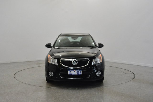 Used Holden Cruze JH Series II MY14 Z Series, 2014 Holden Cruze JH Series II MY14 Z Series Black 6 Speed Sports Automatic Sedan