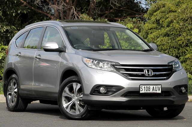 Used Honda CR-V RM VTi-L 4WD, 2012 Honda CR-V RM VTi-L 4WD Alabaster Silver 5 Speed Automatic Wagon