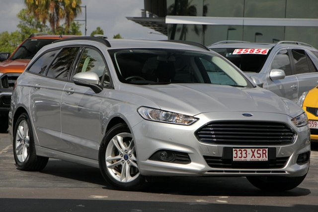 Used Ford Mondeo MD 2017.50MY Ambiente PwrShift, 2017 Ford Mondeo MD 2017.50MY Ambiente PwrShift Moondust Silver 6 Speed Sports Automatic Dual Clutch