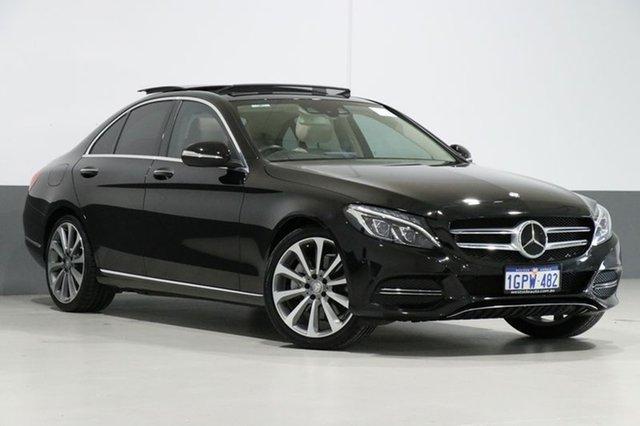 Used Mercedes-Benz C300 205 BlueTEC Hybrid, 2015 Mercedes-Benz C300 205 BlueTEC Hybrid Black 7 Speed Automatic Sedan