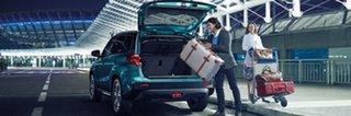 2018 Suzuki Vitara LY GLX TCSS 4WD Pearl White 6 Speed Sports Automatic Dual Clutch Wagon.