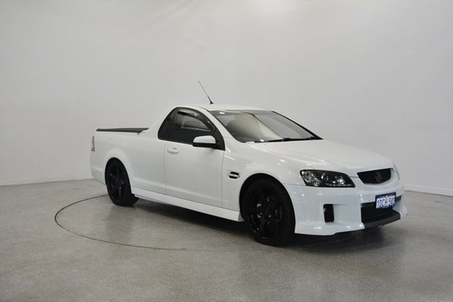 Used Holden Ute VE MY09.5 SV6, 2009 Holden Ute VE MY09.5 SV6 White 6 Speed Manual Utility