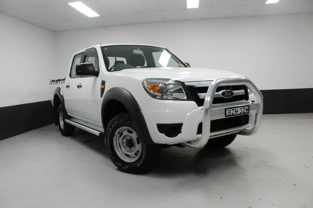 Used Ford Ranger PK XL Crew Cab 4x2 Hi-Rider, 2011 Ford Ranger PK XL Crew Cab 4x2 Hi-Rider White 5 Speed Manual Utility