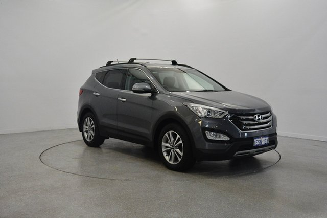 Used Hyundai Santa Fe DM2 MY15 Elite, 2015 Hyundai Santa Fe DM2 MY15 Elite Titanium Silver 6 Speed Sports Automatic Wagon