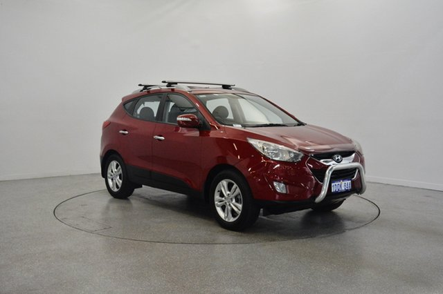 Used Hyundai ix35 LM MY11 Elite AWD, 2011 Hyundai ix35 LM MY11 Elite AWD Remington Red 6 Speed Sports Automatic Wagon