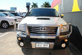 2014 Toyota Hilux KUN26R MY14 SR5 Double Cab Stirling Silver 5 Speed Automatic Utility