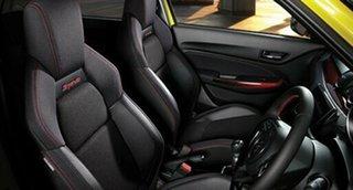 2018 Suzuki Swift AZ Sport Pure White Pearl 6 Speed Manual Hatchback.