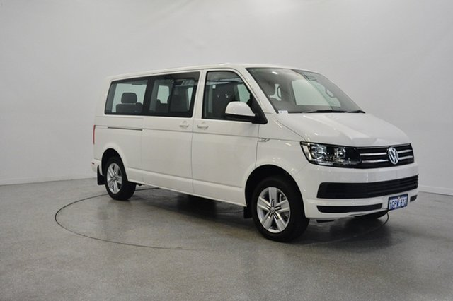 Used Volkswagen Multivan T6 MY17.5 TDI340 LWB DSG Comfortline, 2017 Volkswagen Multivan T6 MY17.5 TDI340 LWB DSG Comfortline Candy White 7 Speed
