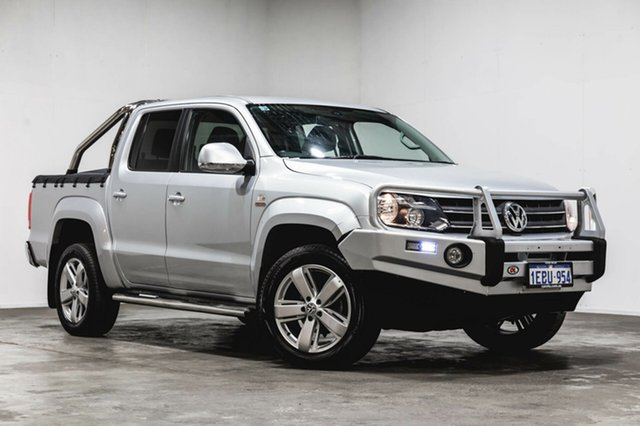 Used Volkswagen Amarok 2H MY12.5 TDI420 4Motion Perm Ultimate, 2012 Volkswagen Amarok 2H MY12.5 TDI420 4Motion Perm Ultimate Silver 8 Speed Automatic Utility