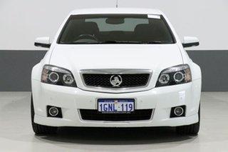 2009 Holden Caprice WM MY09.5 White 6 Speed Auto Active Sequential Sedan.