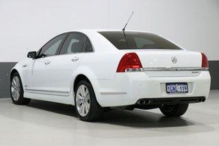 2009 Holden Caprice WM MY09.5 White 6 Speed Auto Active Sequential Sedan