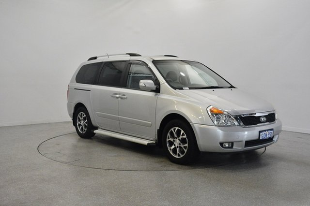 Used Kia Carnival YP MY15 Platinum, 2014 Kia Carnival YP MY15 Platinum Bright Silver 6 Speed Sports Automatic Wagon
