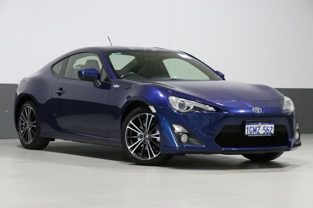 Used Toyota 86 ZN6 GTS, 2012 Toyota 86 ZN6 GTS Blue 6 Speed Manual Coupe