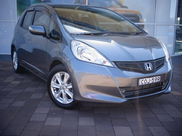 Used Honda Jazz GE MY13 Vibe, 2013 Honda Jazz GE MY13 Vibe Polished Metal 5 Speed Automatic Hatchback