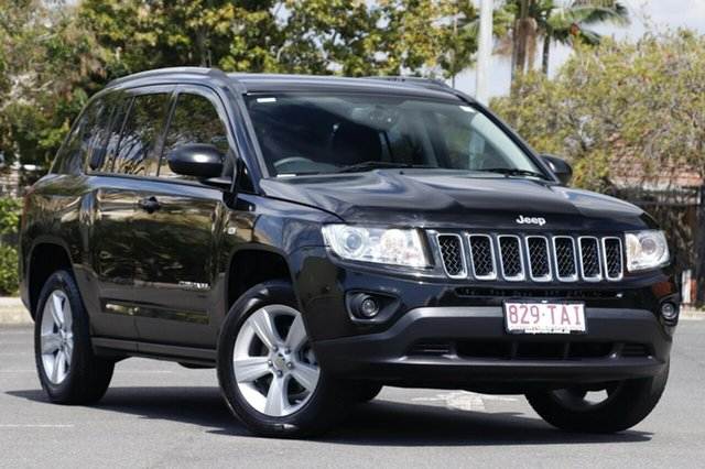 Used Jeep Compass MK MY12 Sport, 2012 Jeep Compass MK MY12 Sport Black 5 Speed Manual Wagon