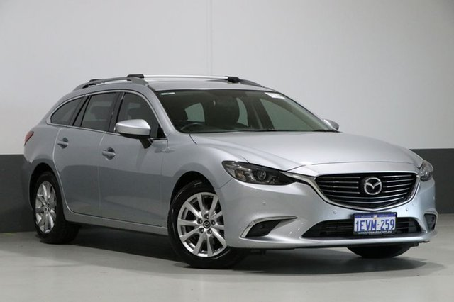 Used Mazda 6 6C MY15 Touring, 2015 Mazda 6 6C MY15 Touring Silver 6 Speed Automatic Wagon